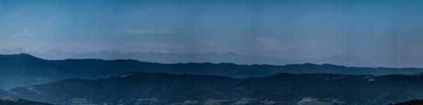 Panorama Tatr z Kiczni