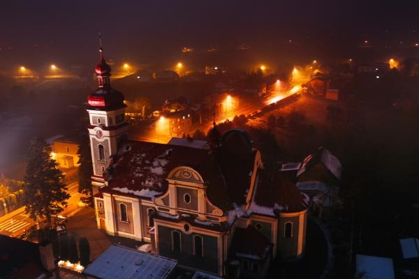 Kościół NSPJ w Krzyżkowicach