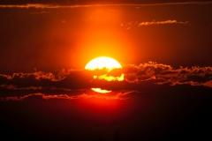 Zachód Słońca z Krzyżkowic
