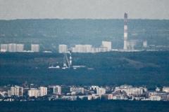 Widok na Tychy - Katowice