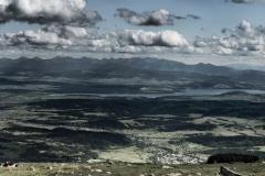 Widok na Tatry z Babiej Góry