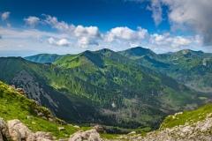 Tatry Zachodnie z Chudej Przełączki