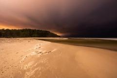 Plaża nocą