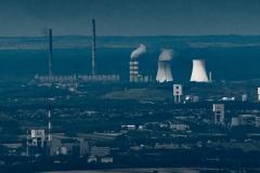 Widok na Elektrownię Rybnik